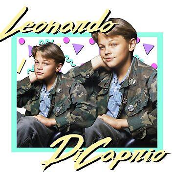 80s Leonardo DiCaprio by ellentwd