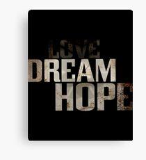 Dream hope Canvas Print