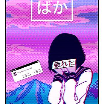Aesthetic Japanese Girl 13 v2 by MisterNightmare