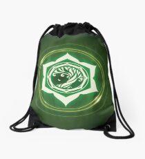 Champions of Hara Leaf Sigil Drawstring Bag