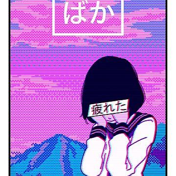 Aesthetic Japanese Girl 13 v3 by MisterNightmare
