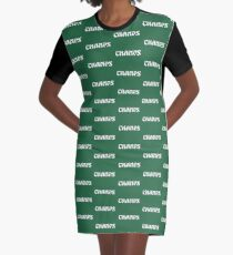 Philly Champs retro font 2 Graphic T-Shirt Dress