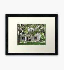 Hector.C. Haight House/Union Hotel Framed Print