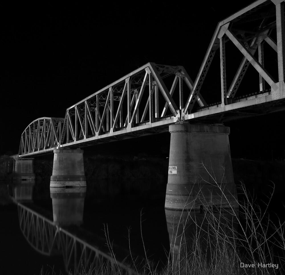 Murray Bridge BW  by Dave  Hartley
