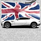 DB9 on Union Jack by CoolCarVideos