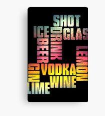 Drink 3 Canvas Print