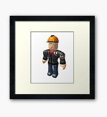 Roblox Builderman Framed Print
