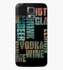 Drinks Case/Skin for Samsung Galaxy