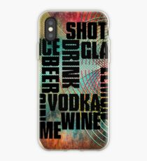 Drink text iPhone Case