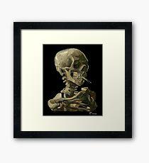 Van Gogh, Leiter der Skelettkunstwerk-Reproduktion, Poster, T-Shirts, Drucke, Taschen, Männer, Frauen, Kinder Gerahmtes Wandbild