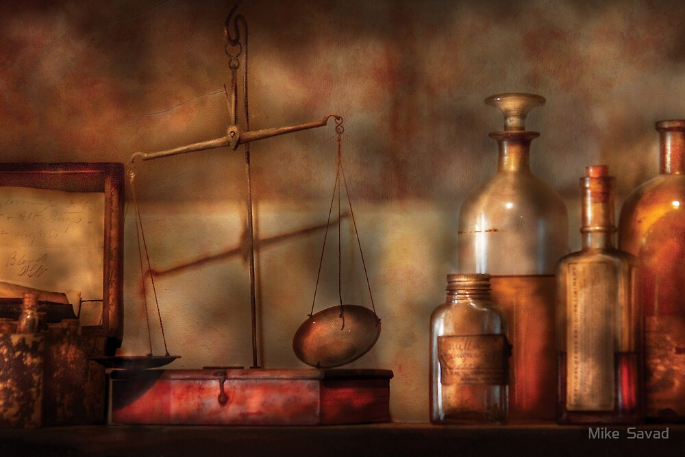 Pharmacist - Precision needed by Michael Savad