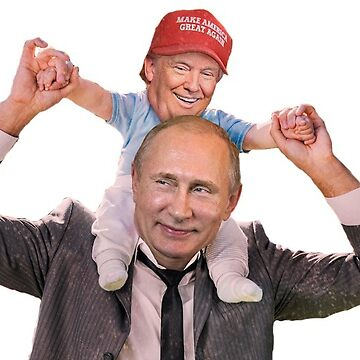 Putin and Trump smiling by Dipardiou