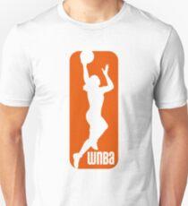 WNBA Basketball Logo T-Shirt Slim Fit T-Shirt