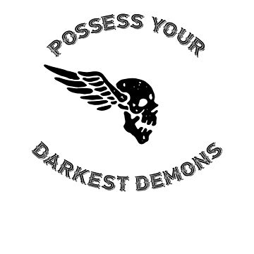 Demonic Winged Skull-Possess Your Demons by broadmeadow