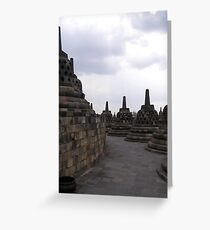 Stupas Greeting Card