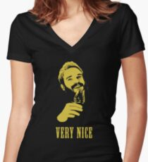 Very Nice - Pewdiepie Whiskey Shirt Women's Fitted V-Neck T-Shirt