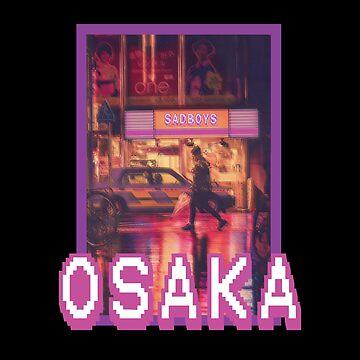 Osaka Vaporwave by Gifafun