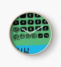 Awesome T-shirt illustrator design calculator with HiHi Clock