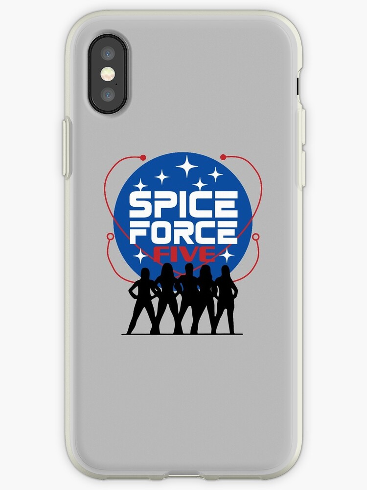 Spice Force Five + Space Force by catalystdesign