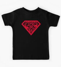 Last Son Of Gallifrey - Red Kids Tee