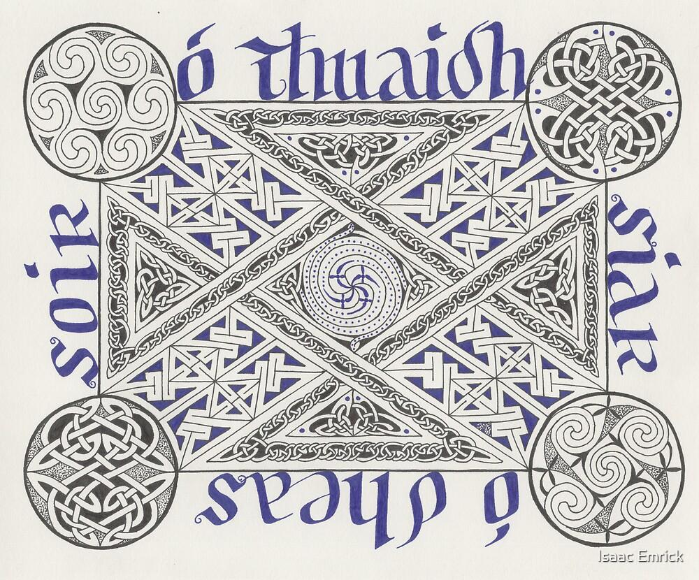 O Thuaidh, Siar, O Dheas, Soir by Isaac Emrick