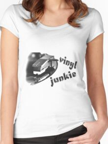 Vinyl Junkie Women's Fitted Scoop T-Shirt