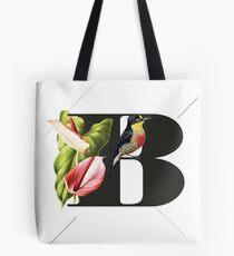 Botanical Alphabet B Tasche