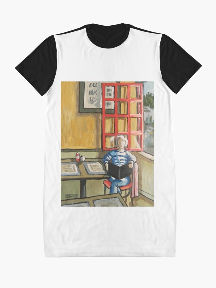 Alternative Ansicht von Bostoner Pub T-Shirt Kleid