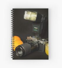 Olympus and the Oranges  Spiral Notebook