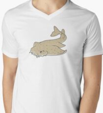 Angel shark Men's V-Neck T-Shirt