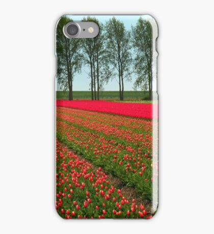 Tulip Landscape iPhone Case/Skin