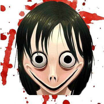 Horror Shirt Halloween Scary Momo Blood Zombie T-Shirt Mug Print by thehadgaddad