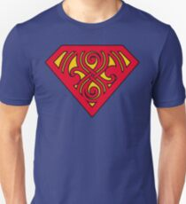 Last Son Of Gallifrey - Red & Yellow Unisex T-Shirt