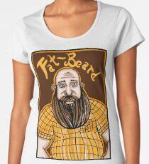 Fat-Beard Camiseta premium para mujer