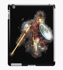 Soldier antique glowing Art iPad-Hülle & Skin
