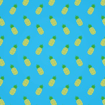Cute Pineapple Pattern by mongolife