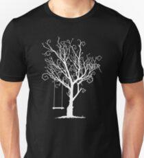 WHITE VENEER TREE Unisex T-Shirt