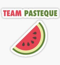 Team Watermelon  Sticker