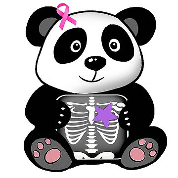 Our Brave Starr - Breast Cancer Awareness Panda by smackmysithup8