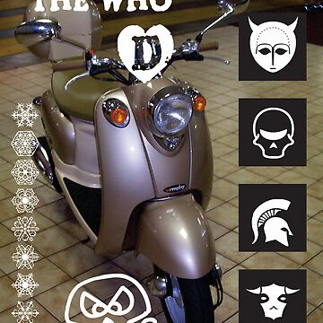 Quadraphenia Vespa - The Who by robertemerald