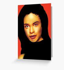 Catherine Zeta-Jones Greeting Card