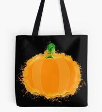 Pumpkin cartoon glowing Art Tote Bag
