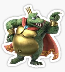 Pegatina Smash Bros Ultimate - King K. Rool