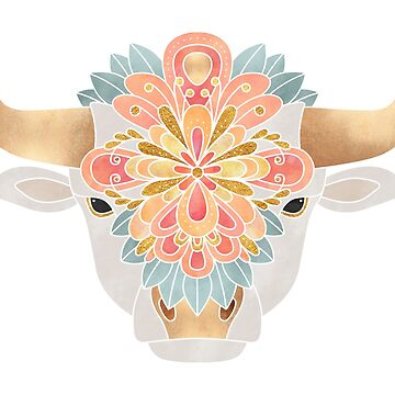 Flower Bull 2 by foto-ella