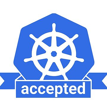Kubernetes accepted sticker by coderman