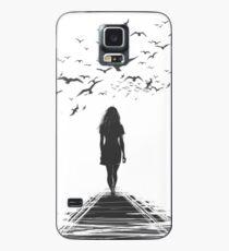 CROW GIRL Case/Skin for Samsung Galaxy