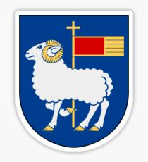 Gotland Coat of Arms  Sticker