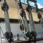 Old time rigging......!! by Roy  Massicks