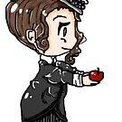 "An Apple A Day ""Missy"" by AmserStudios"