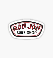 Ron-Jon Sticker